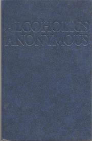 Alcoholics Anonymous Big Book 4th Edition Lg. Print